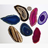 Image of agate slices size number 1