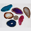 Agate slices, size #0