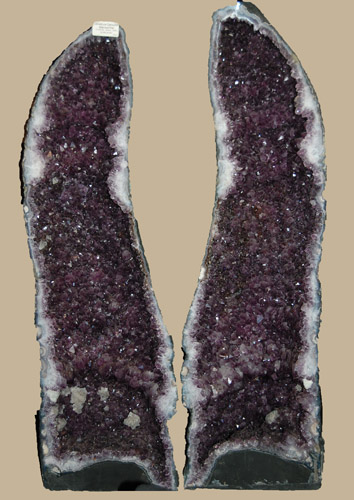 Image of Amethyst Cathedral Pair