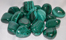 Image of tumbled malachite