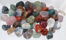 Image of tumbled natural stones, mix