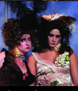 Image of actresses of the Creede Repertory Theatre